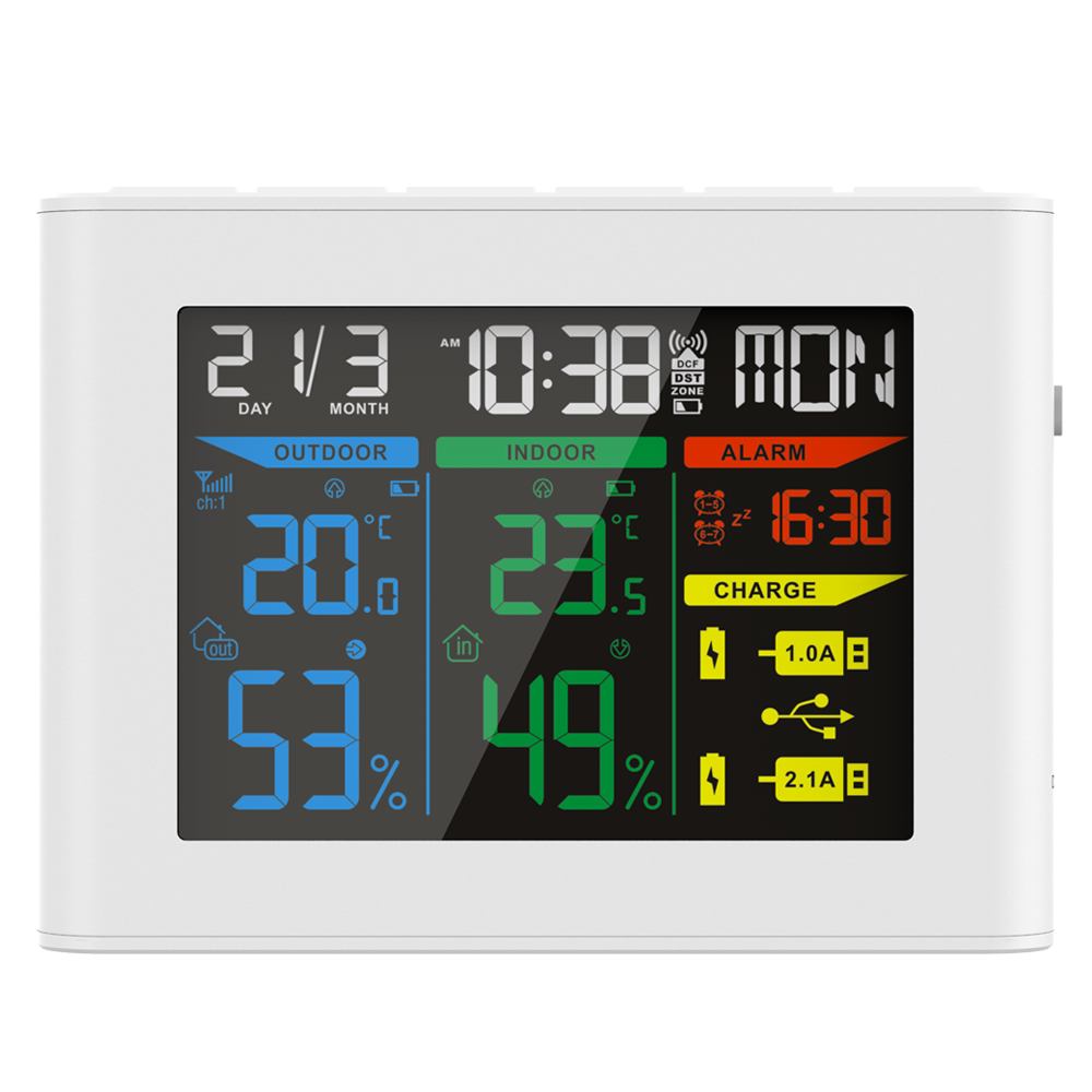 Wireless Weather Station with Color Display